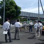 間瀬口橋付近の安全対策の確認