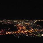 異例の寒さで、夜景もきれい!!!
