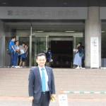 富士市子連ドッチボール中央大会に出席