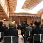 静岡県神社庁神殿例祭に参加して。