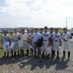 リトル卒団式の後に、記念試合が行われました!!
