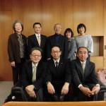 山崎教授と共に須津古墳群についての意見交換