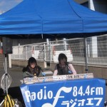 ラジオで古墳について発信