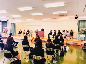 タカヤマ入学式1