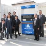 静岡ガスグループでのエネルギー事業視察