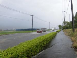 冠水道路1